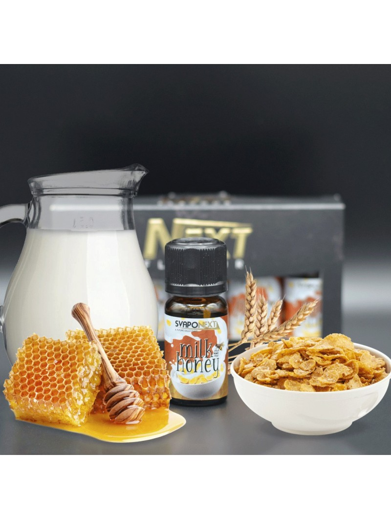 SVAPONEXT - AROMA 10ML - NEXT FLAVOUR - MILK & HONEY