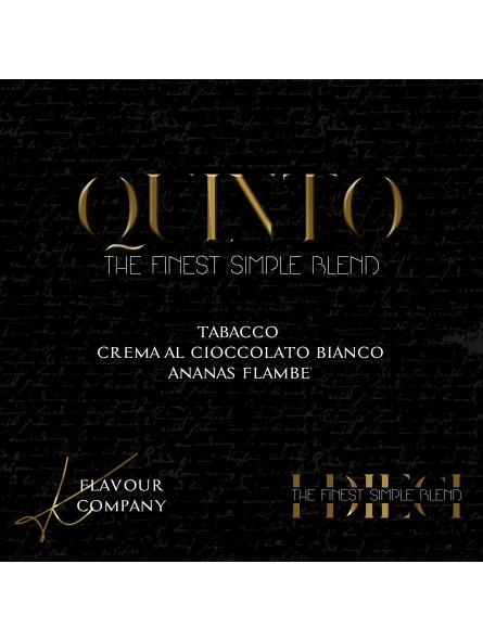 K Flavour Company - AROMA CONCENTRATO 10 ML - QUINTO