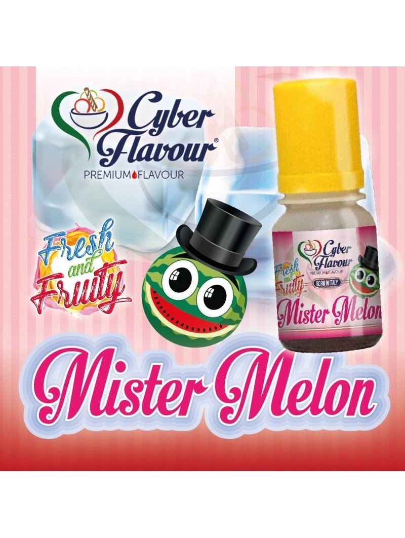 CYBER FLAVOUR - MISTER MELON - AROMA CONCENTRATO 10ML