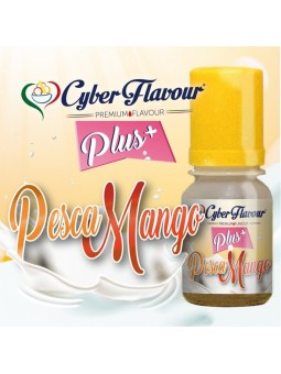 CYBER FLAVOUR - PESCA/MANGO PLUS - AROMA CONCENTRATO 10ML