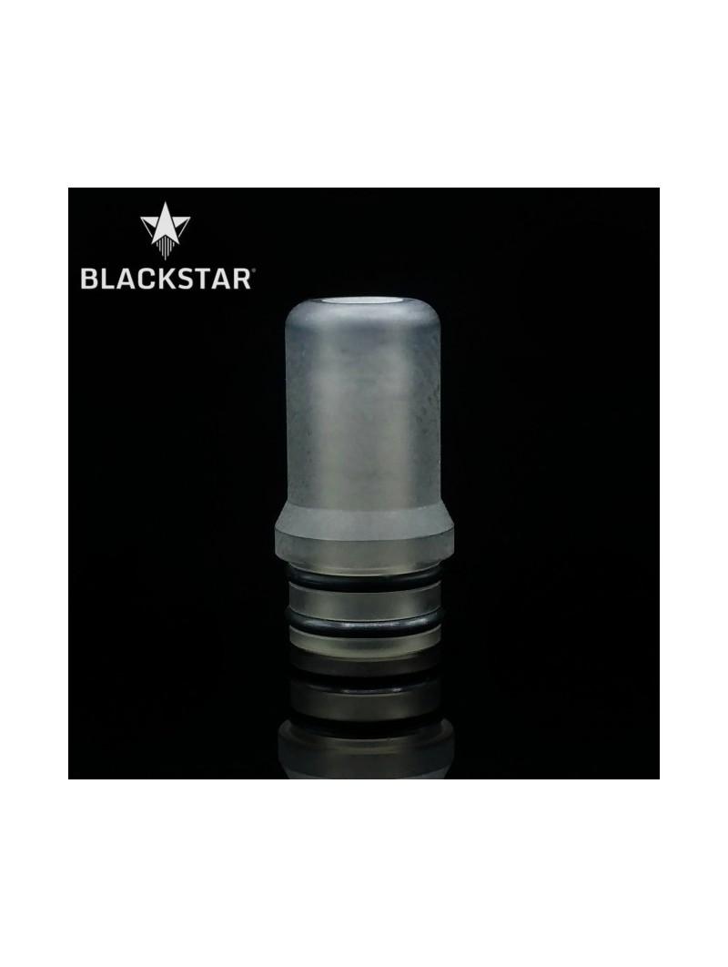BLACKSTAR - Drip Tip Fedor v2 - TRANSPARENT GREY RAW