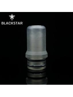 BLACKSTAR - Drip Tip Fedor v2 - TRANSPARENT GREY RAW