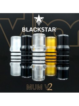BLACKSTAR - Drip Tip MUM v2 - CLEAR POLISHED