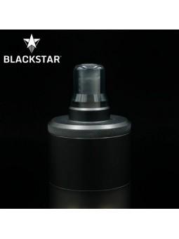 BLACKSTAR - Drip Tip MUM v2 - TRANSPARENT GREY POLISHED