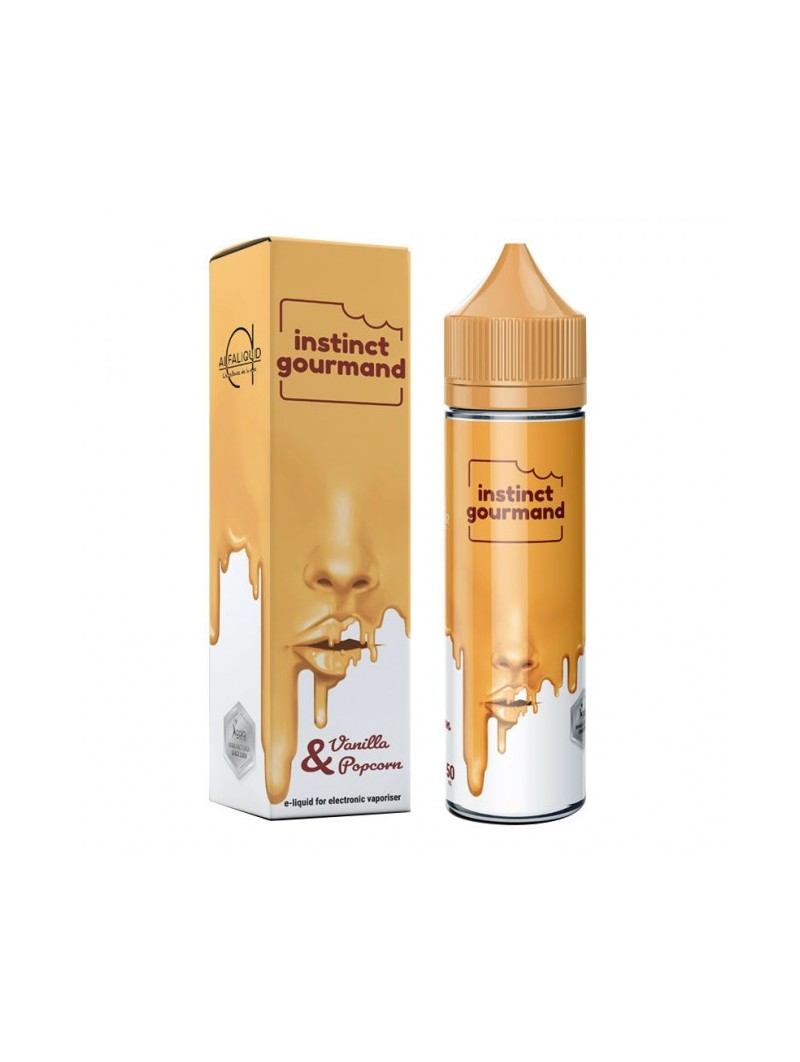 ALFALIQUID 50ML - INSTINCT GOURMAND - VANILLA & POPCORN