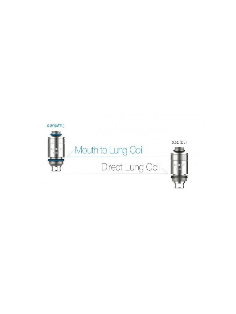 Justfog - Testine Coil di Ricambio FOG1 Confezione da 5 pezzi