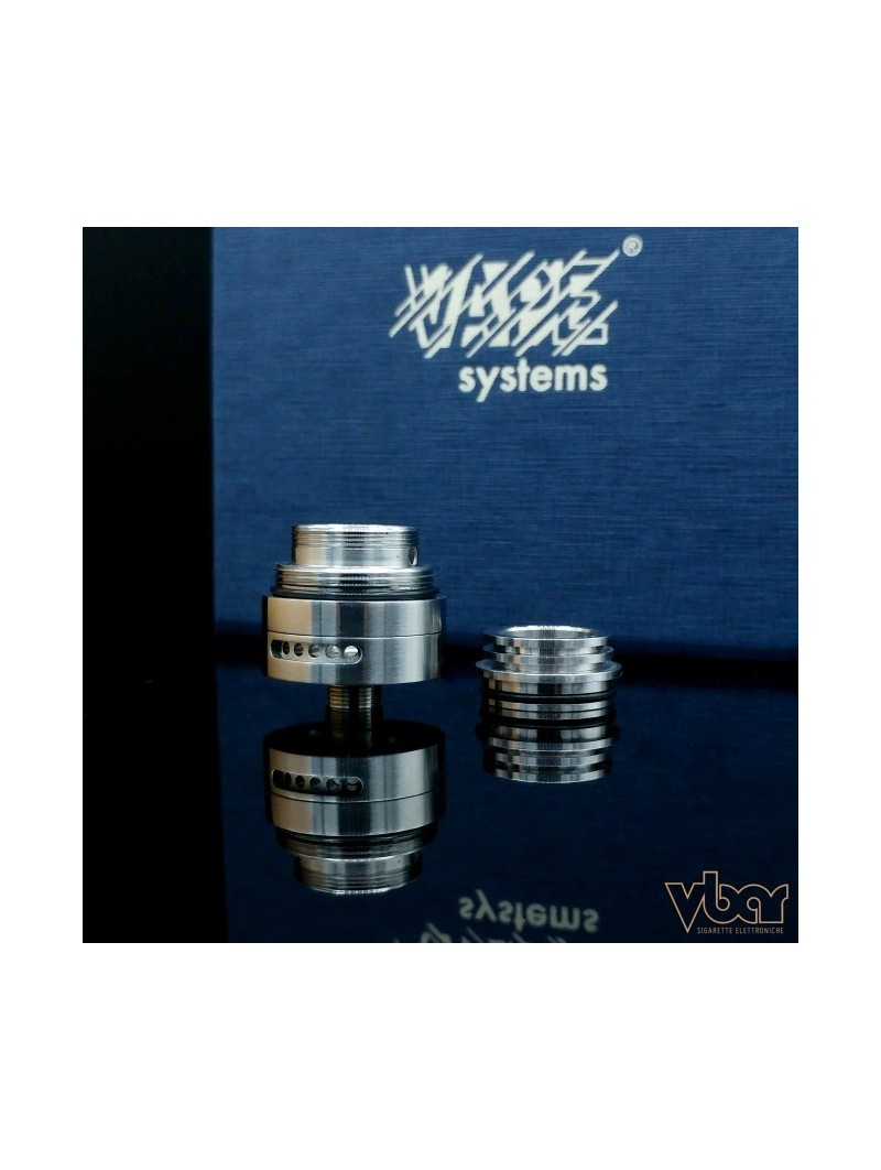 VAPE SYSTEM - BY-ka v.6 Base + Top Cap