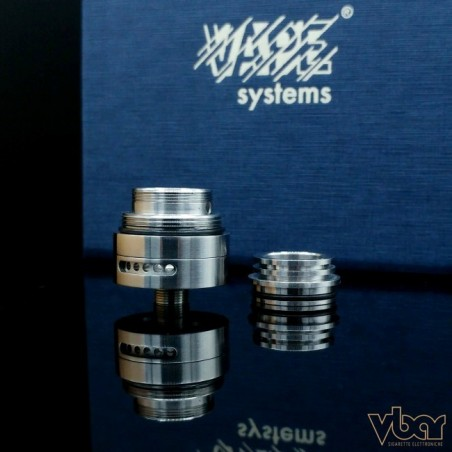 VAPE SYSTEM - BY-ka v.6 Base + Top Cap