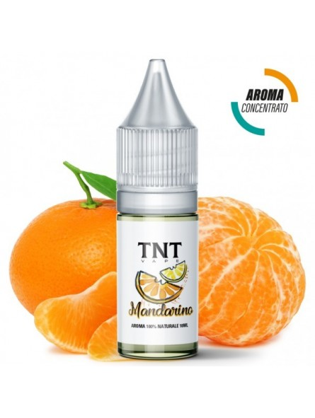 TNT-VAPE - AROMA CONCENTRATO 10ML - NATURAL - MANDARINO