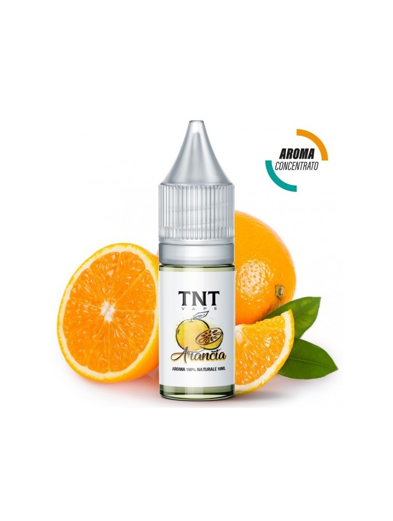 TNT-VAPE - AROMA CONCENTRATO 10ML - NATURAL - ARANCIA