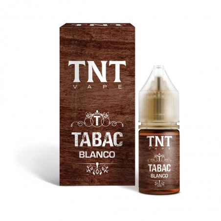 TNT-VAPE - AROMA CONCENTRATO 10ML - TABAC - BLANCO