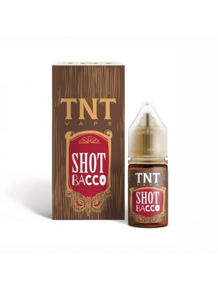 TNT-VAPE - AROMA CONCENTRATO 10ML - SHOT BACCO