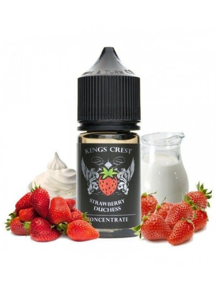 KINGS CREST - AROMA CONCENTRATO 30ML - DUCHESS STRAWBERRY