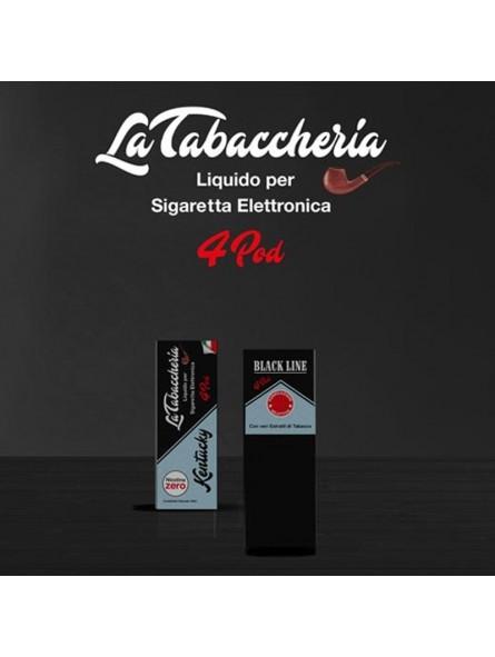 LA TABACCHERIA - LIQUIDO PRONTO 10ML TPD - BLACK LINE 4POD - KENTUCKY