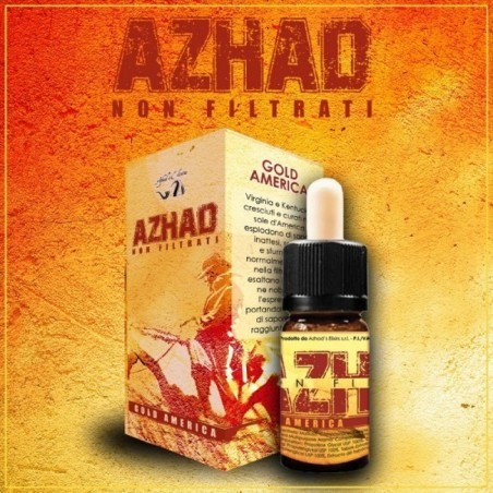AROMA CONCENTRATO AZHAD'S ELIXIR -GOLD AMERICA- NON FILTRATI- 10 ML