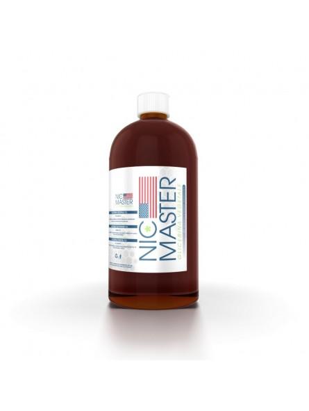 NIC MASTER - GLICERINA VEGETALE - BASI SCOMPOSTE - 500 ml