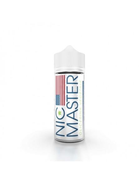 NIC MASTER - GLICERINA VEGETALE - BASI SCOMPOSTE - 100ml in 120ml
