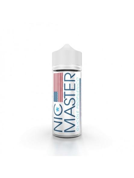 NIC MASTER - GLICOLE PROPILENICO - BASI SCOMPOSTE - 100ml in 120ml