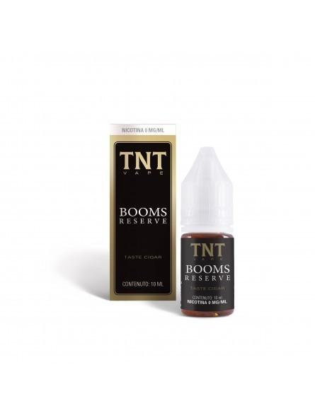 TNT-VAPE - LIQUIDO PRONTO 10ML TPD - BOOMS RESERVE