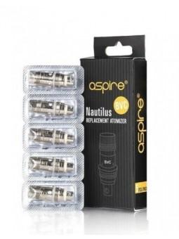 Aspire - Confezione 5 pz Testine Coil di Ricambio Nautilus