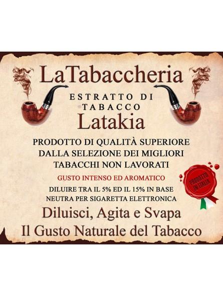Estratto di Tabacco Latakia LA TABACCHERIA AROMA CONCENTRATO 10ML