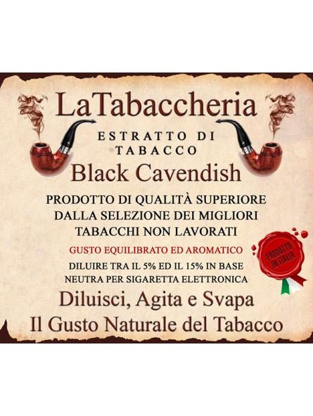 Estratto di Tabacco Black Cavendish LA TABACCHERIA AROMA CONCENTRATO 10ML