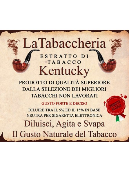 Estratto di Tabacco Kentucky LA TABACCHERIA AROMA CONCENTRATO 10ML