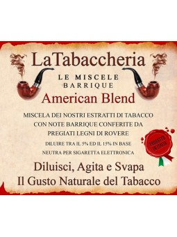 LA TABACCHERIA - AROMA CONCENTRATO 10ML - Miscela Barrique - American Blend