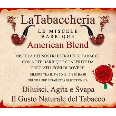 Miscela Barrique American Blend LA TABACCHERIA AROMA CONCENTRATO 10ML