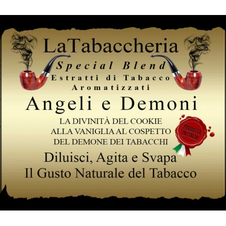 LA TABACCHERIA - AROMA CONCENTRATO 10ML - Special Blend – Angeli e Demoni